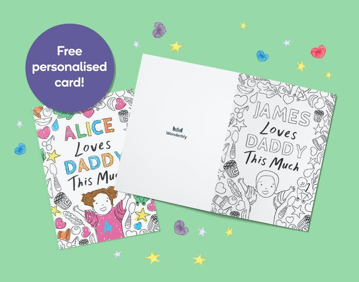 Free personalised Father's Day card