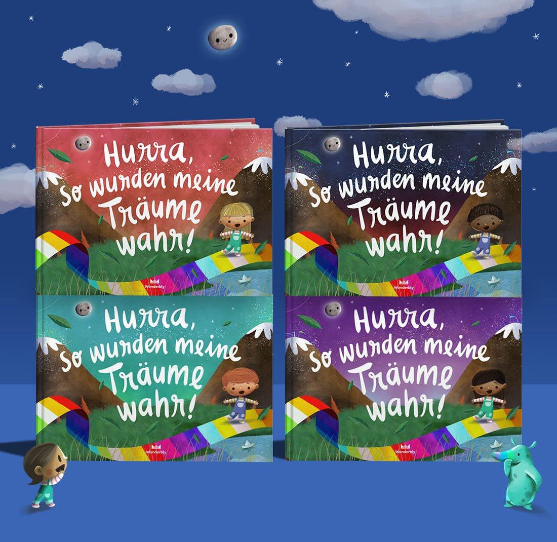 Stapel von Hurra, so wurden meine Träume wahr! mit Cover