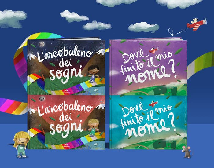 L'arcobaleno dei sogni fa parte della serie Dov'è finito il mio nome