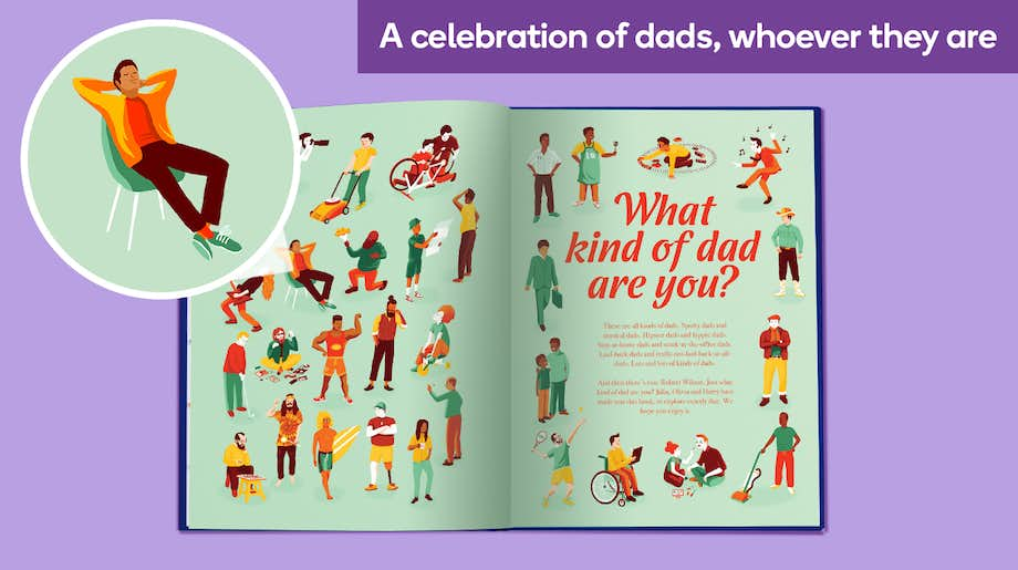 A celebration of dads, whoever they are