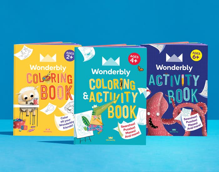 Activity book collection