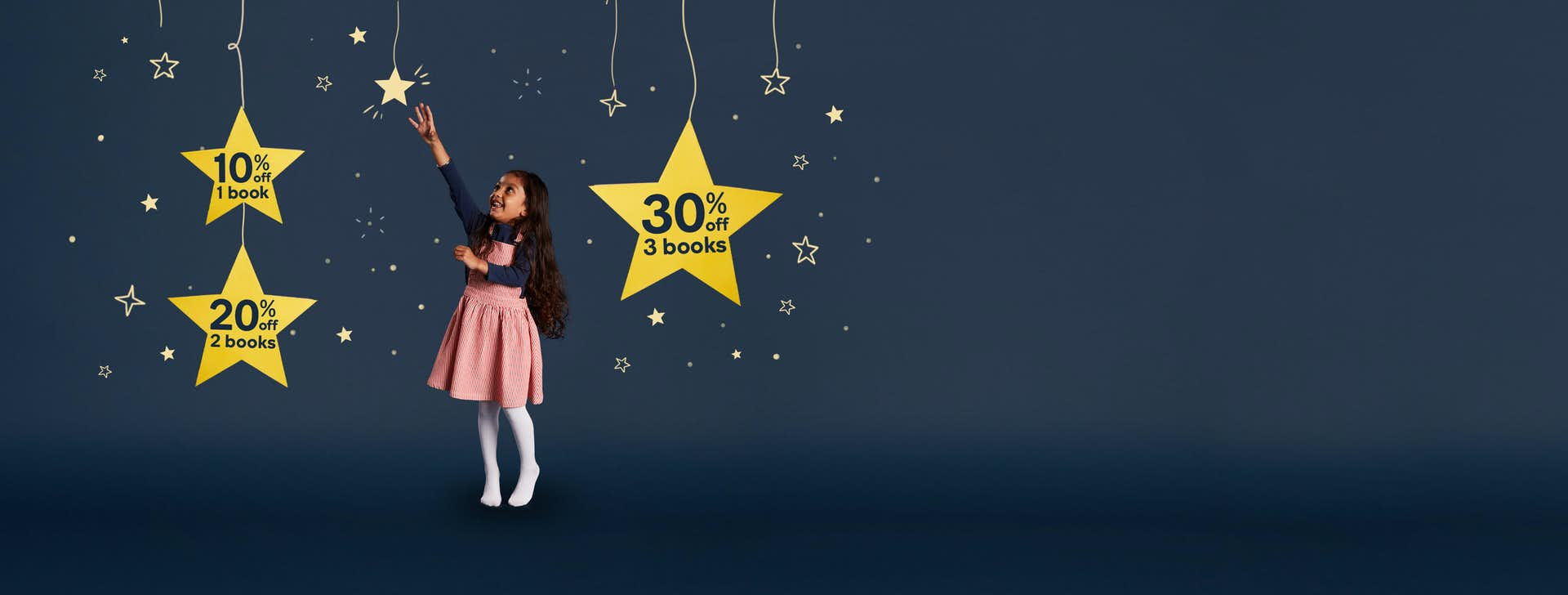 Reach for the stars with our Christmas offers