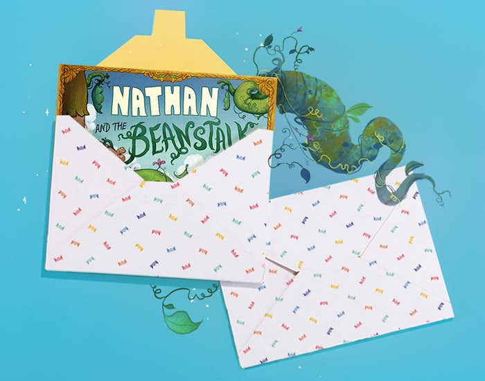 You And The Beanstalk in giftwrap