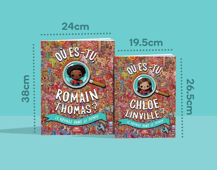 Des couvertures personnalisées disponibles en deux tailles !
