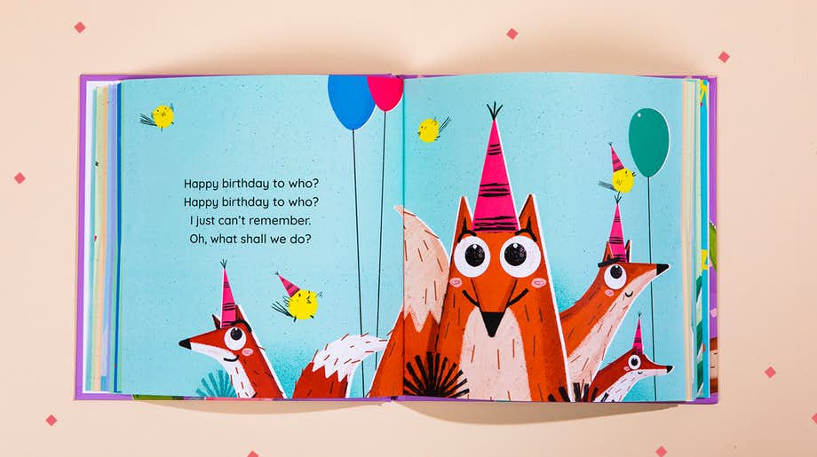 Illustrations in Happy Birthday To You