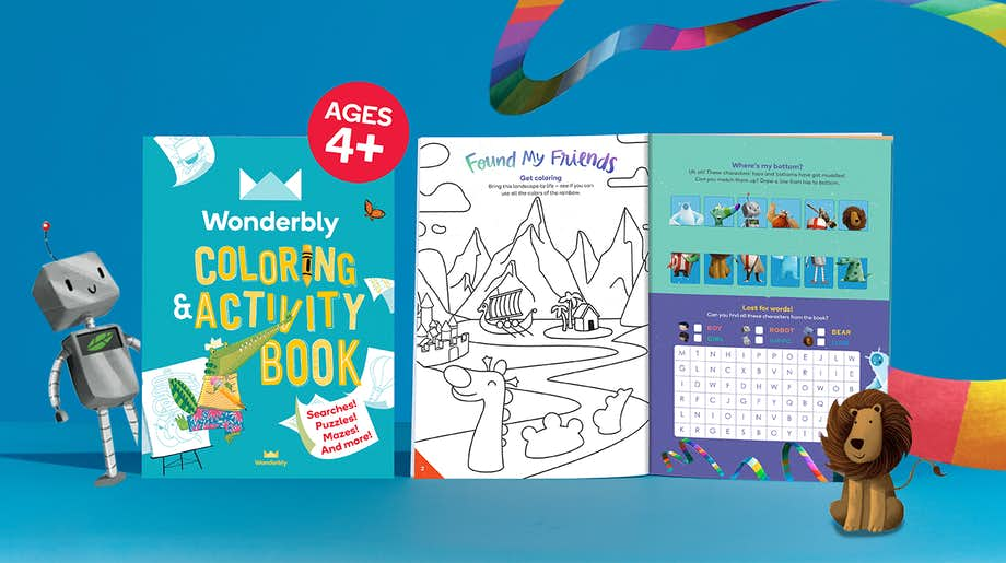 Wonderbly Coloring and Activity Book