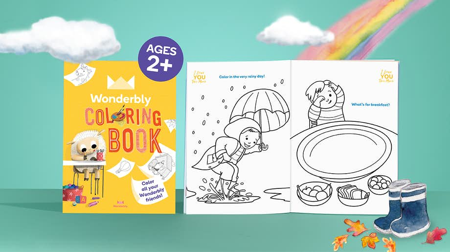 Wonderbly Coloring Book