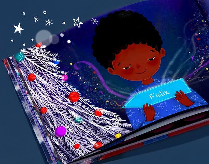 Innenseite von Weihnachtswünsche für Dich