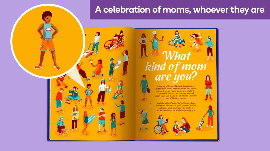 A celebration of moms, whoever they are
