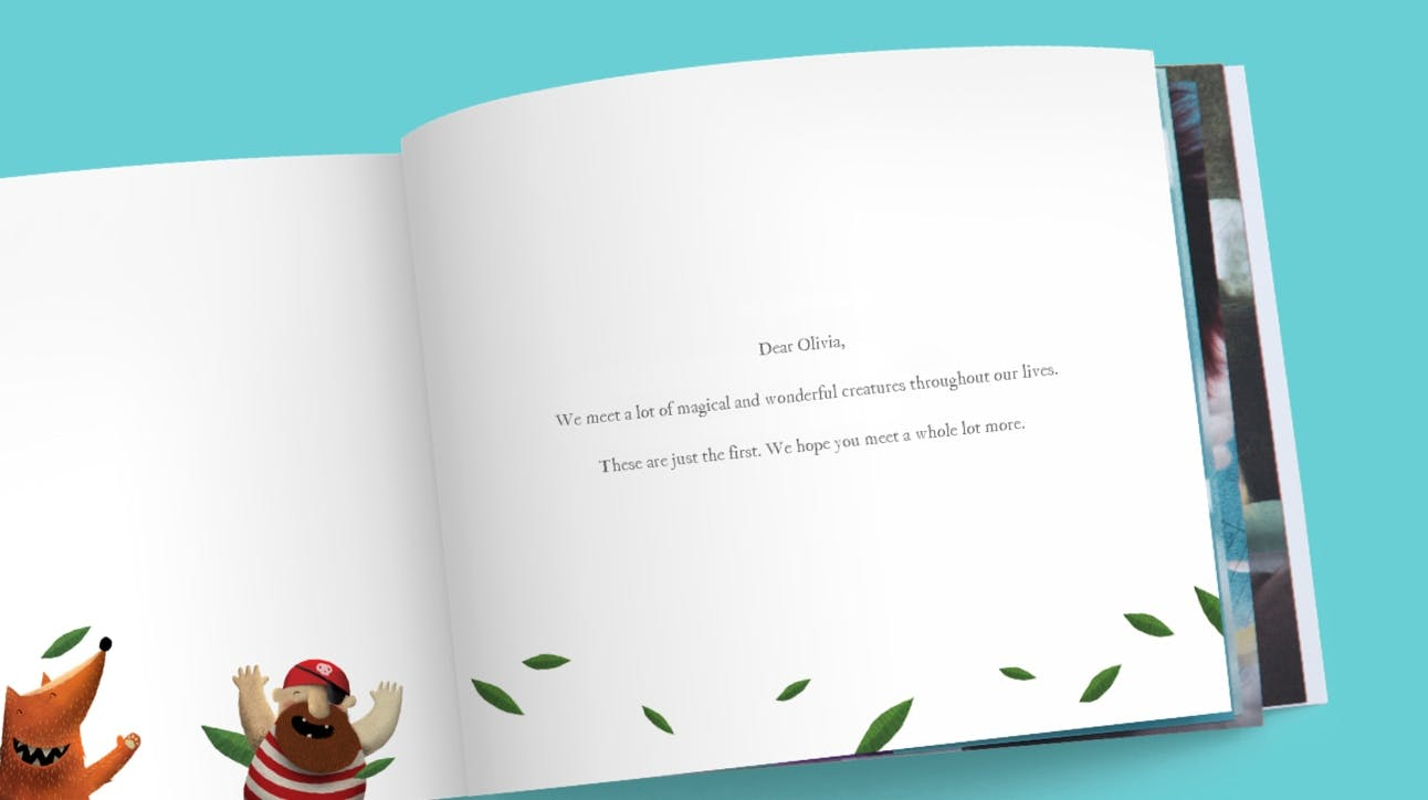 Preview of Lost My Name book - personalized dedication
