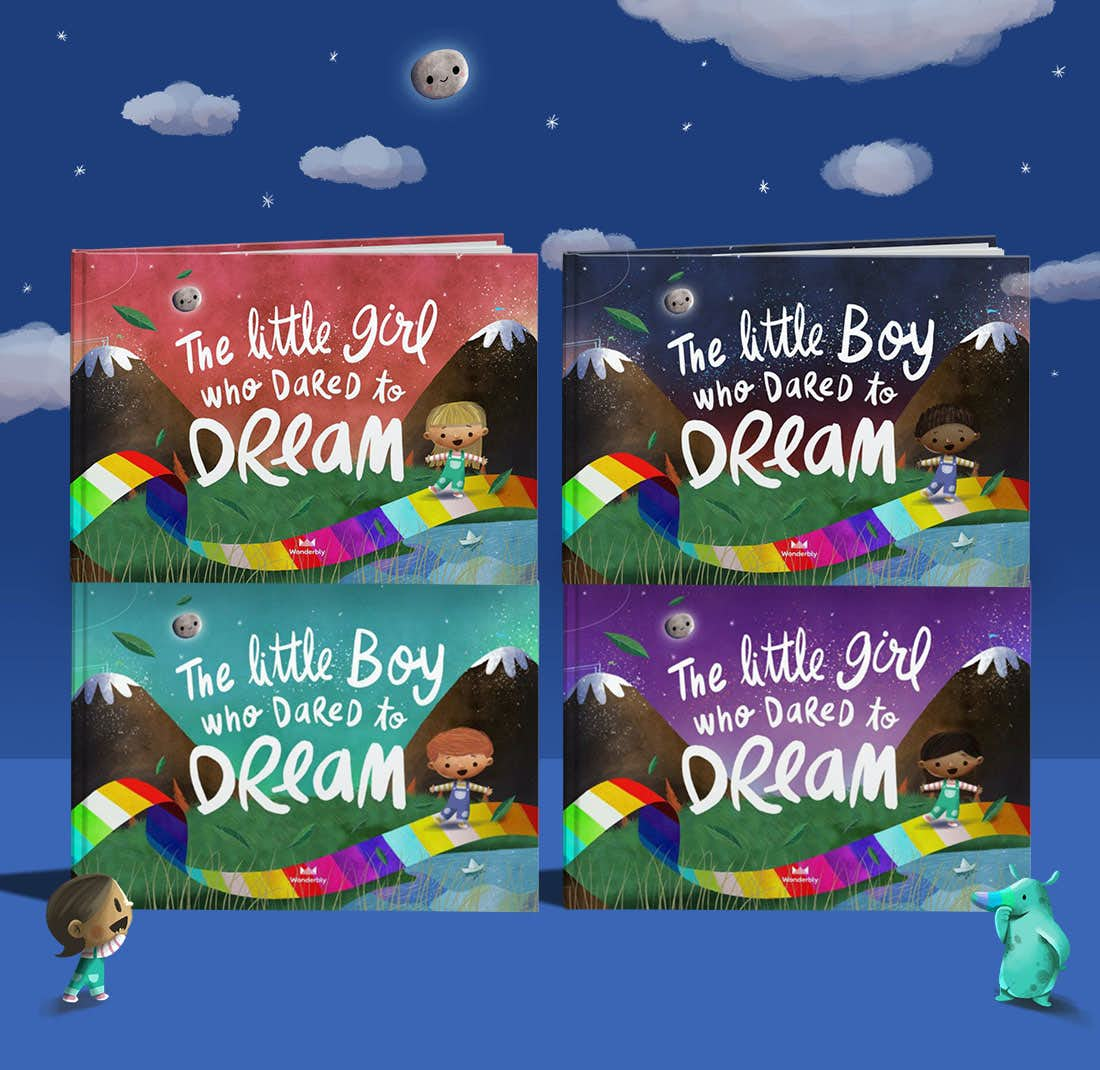 Stack of Dared To Dream books showing the front cover