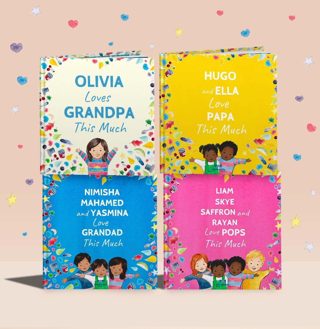 I Love Grandad personalised covers