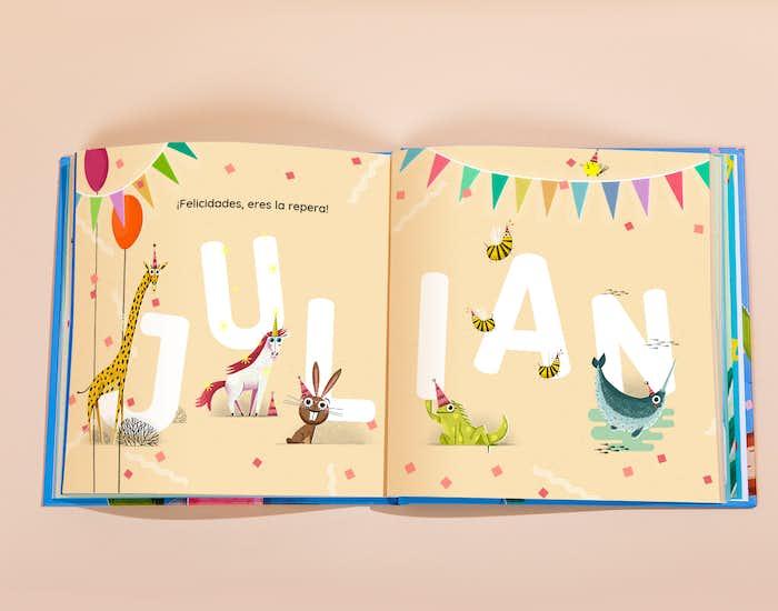 ¡Qué divertido es aprender las letras con estos animales!