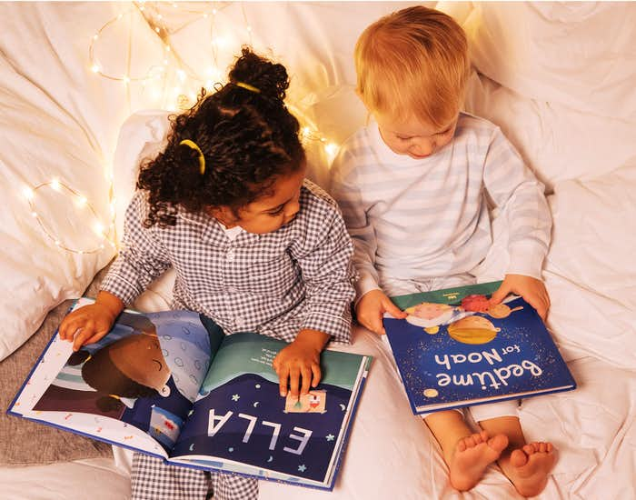 Children reading Bedtime For You