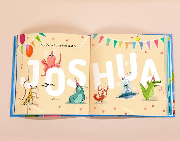 Buchstaben lernen mit lustigen Tieren