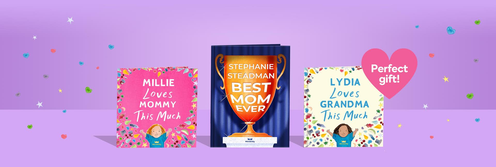 Personalized Mother's Day gifts   Books