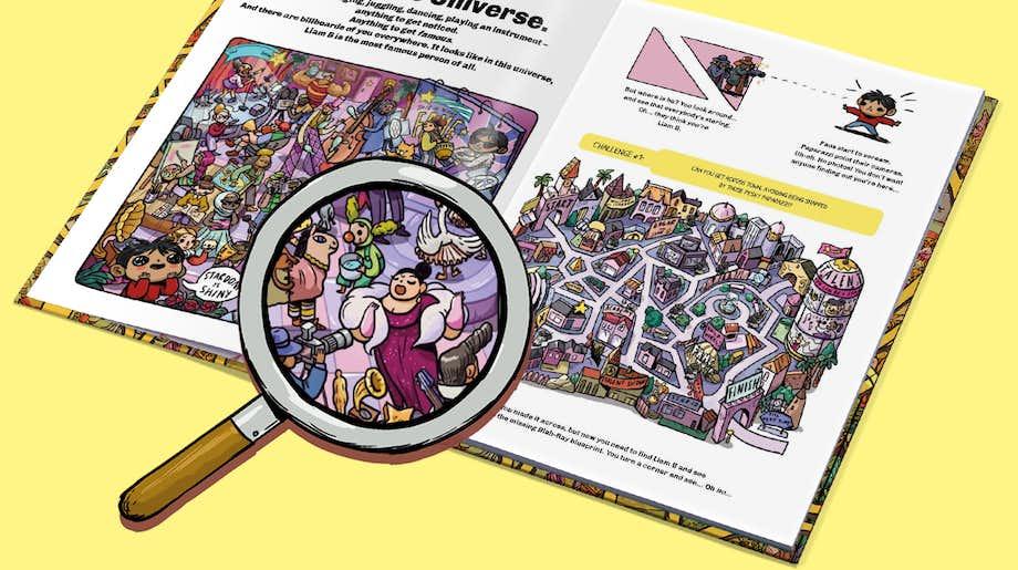 WAY Bundles carousel - look inside puzzle book
