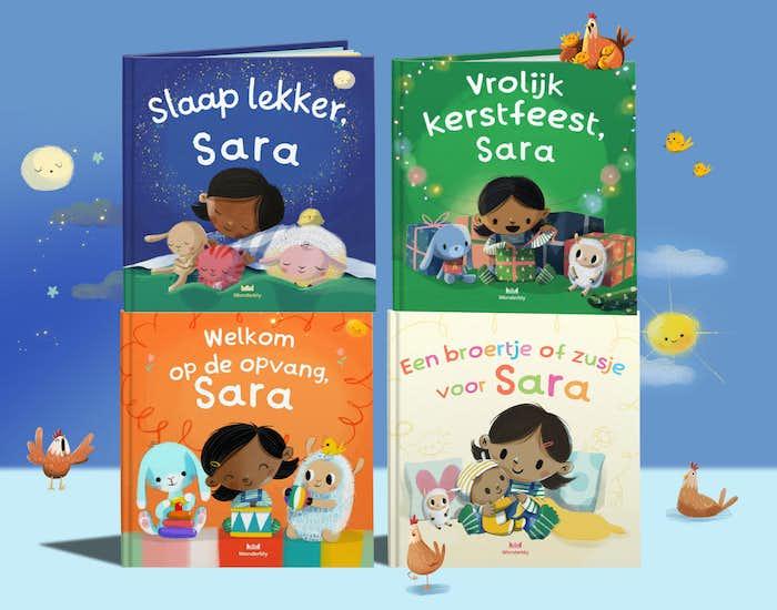 De boeken uit de Jouw eerste stapjes-serie