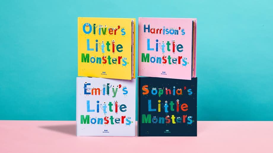 4 Cover Options of My Little Monsters