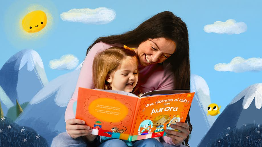 Mum and Daughter reading Daycare For You