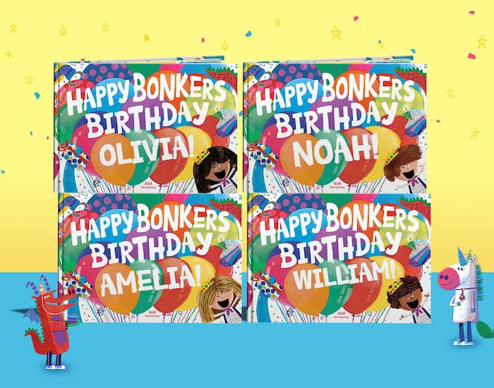 Happy Bonkers Birthday book