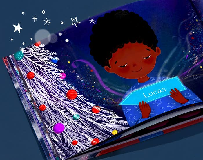 Binnenkant van Een magische kerst