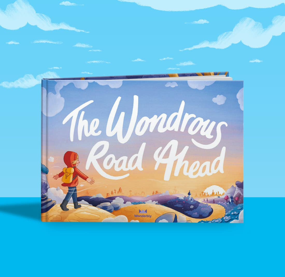 Front cover of The Wondrous Road Ahead