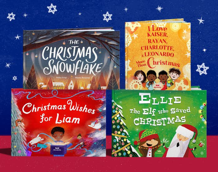 Wonderbly's Christmas book collection