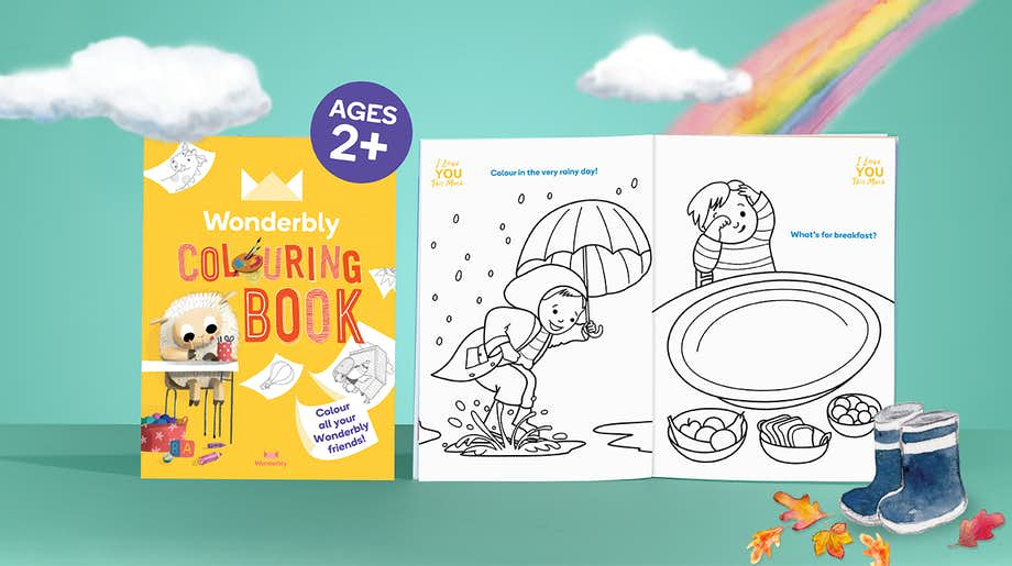 Wonderbly Colouring Book