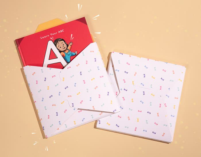 ABC for You in Wonderbly's own gift wrap