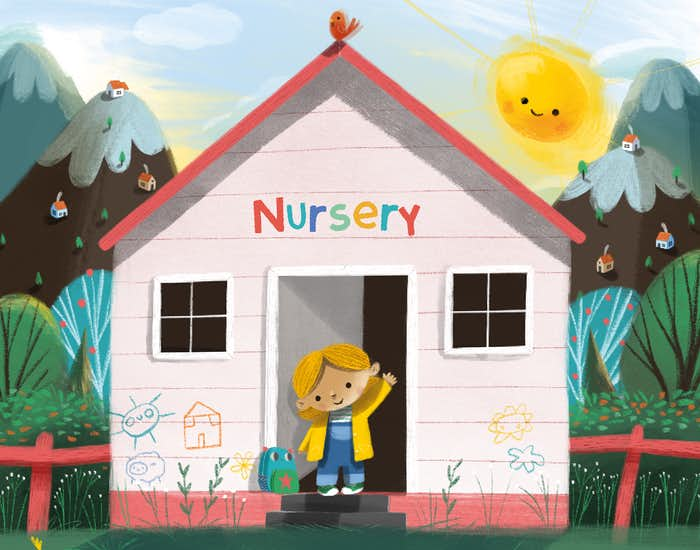 Personalised Illustration in Nursery For You