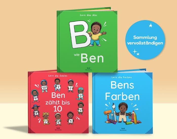 Die Lernbücher Bücher von Wonderbly