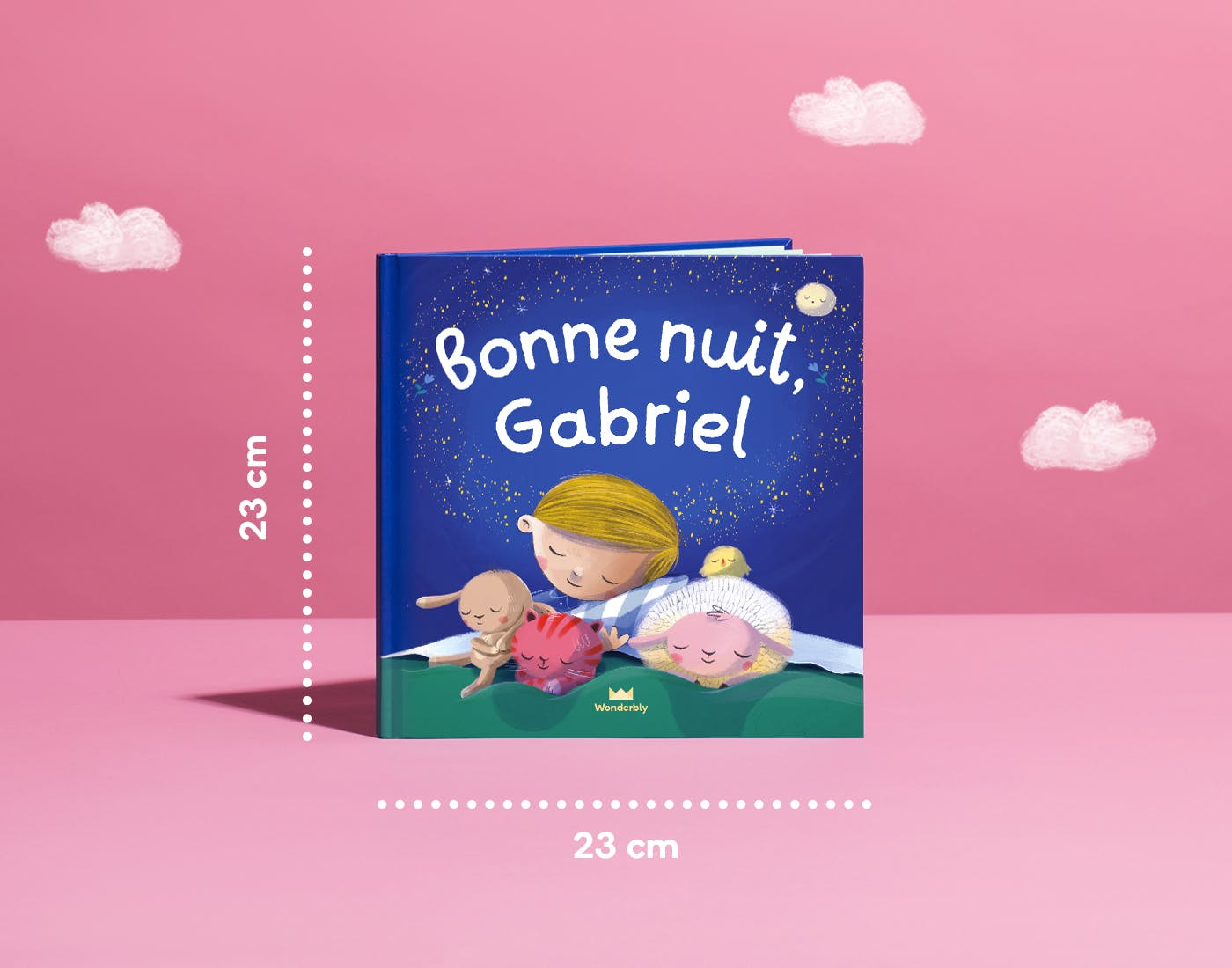 Bonne Nuit front cover dimensions