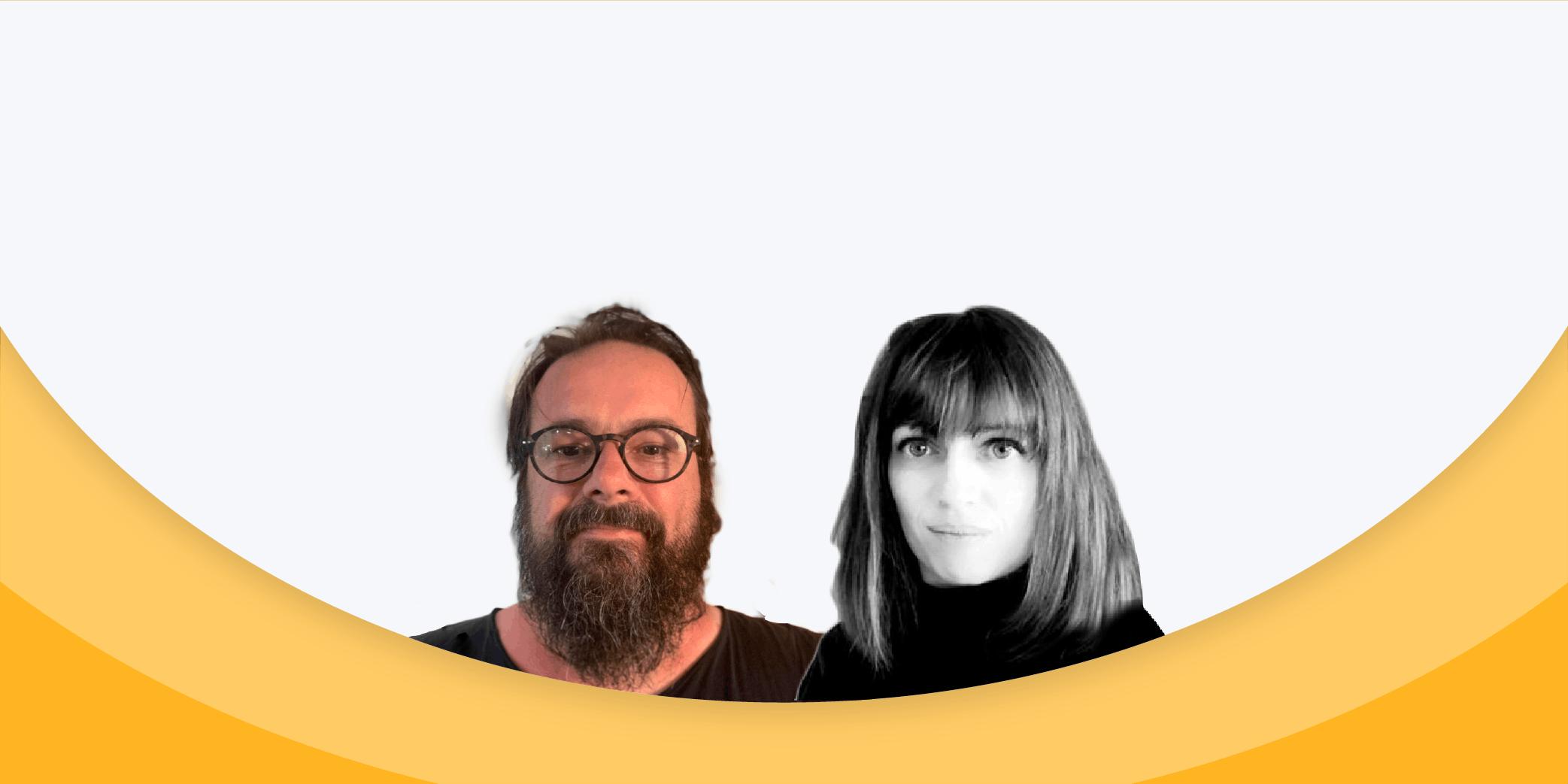 Christèle Gouy et Jeff van de Poel