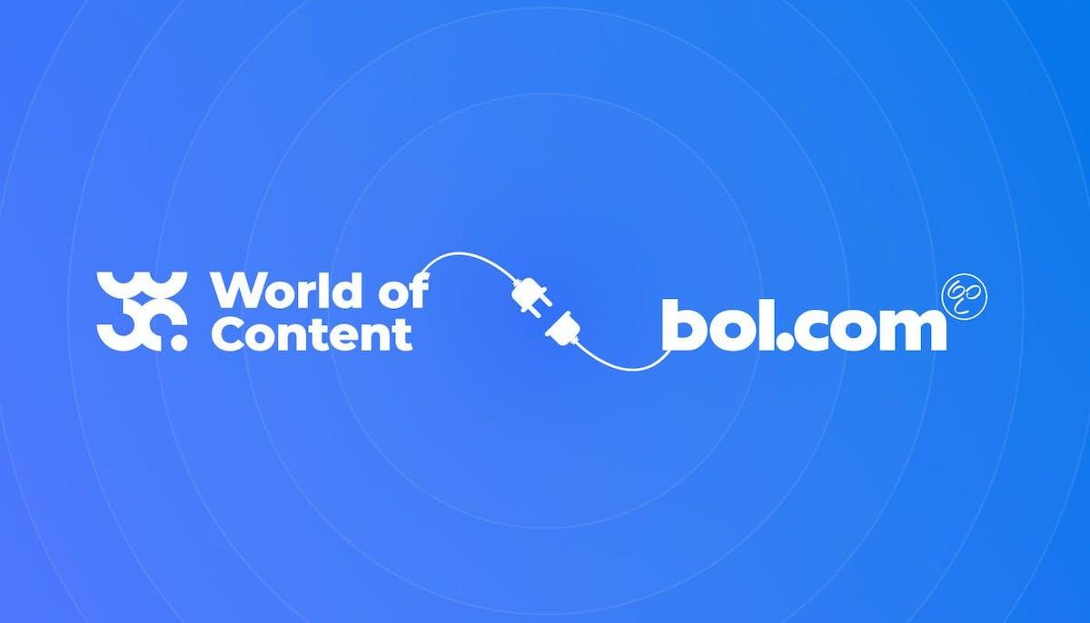 Samenwerking World of Content en Bol.com
