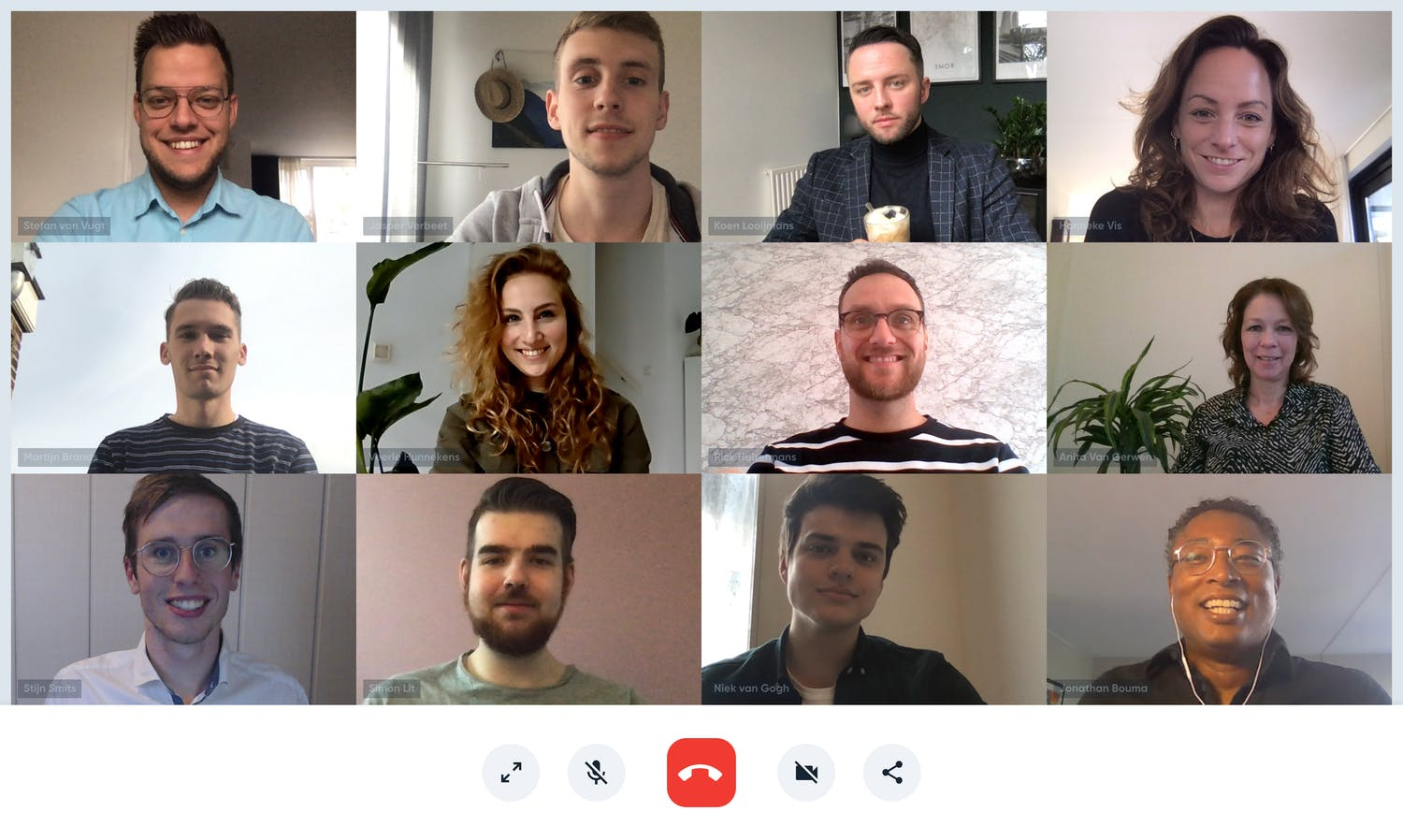 Team Foto Online Meeting