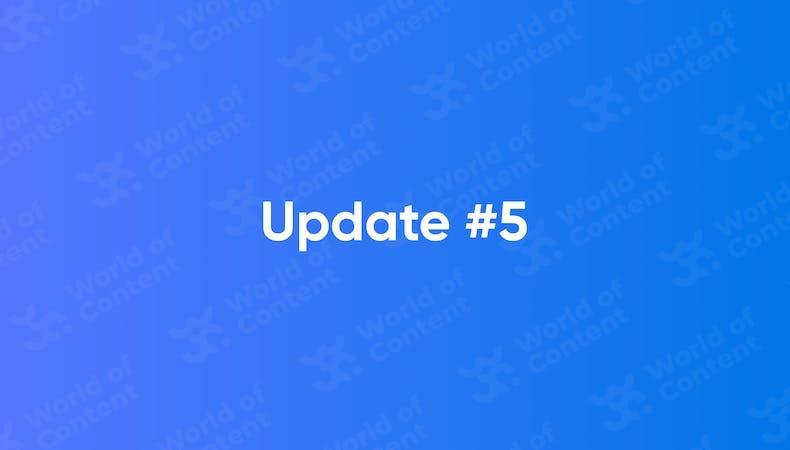 Update 5