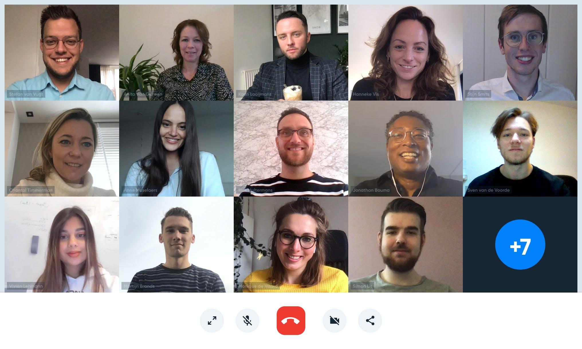 World of Content Team Photo