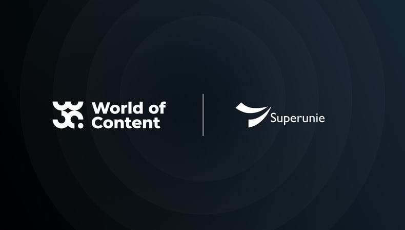 Collaboration between World of Content and Superunie