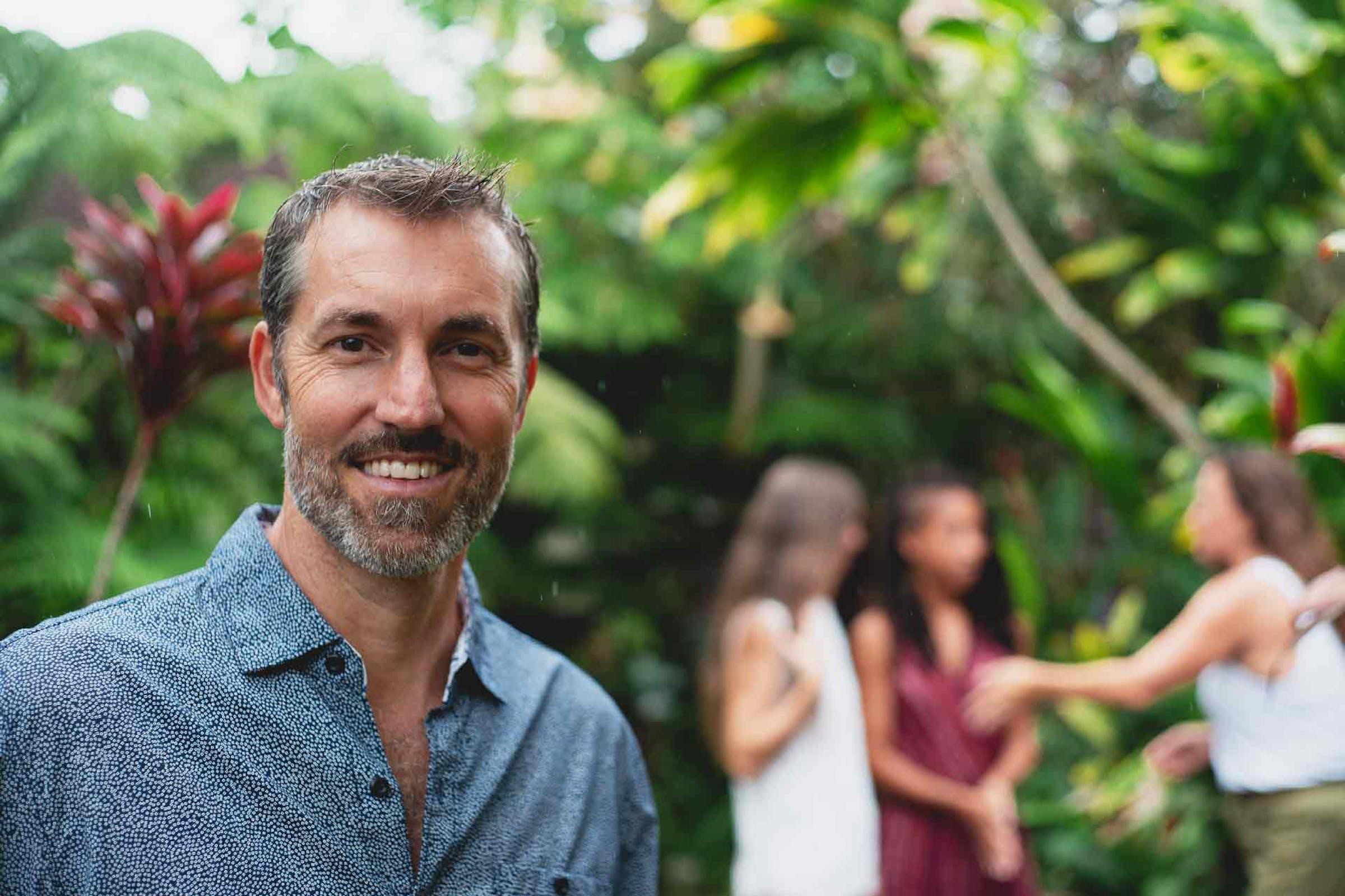 Steve Sakala with Mana Artisan Botanics team.