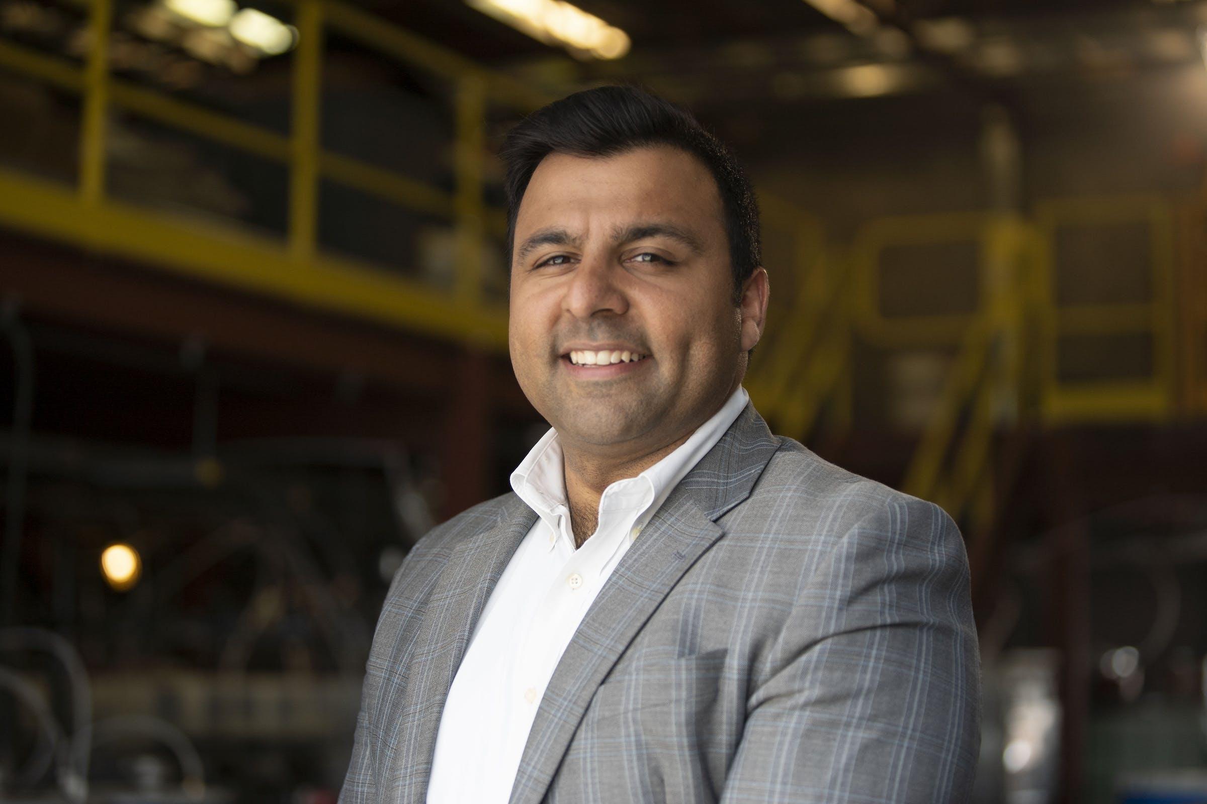 Portrait of Ajay Kochhar.