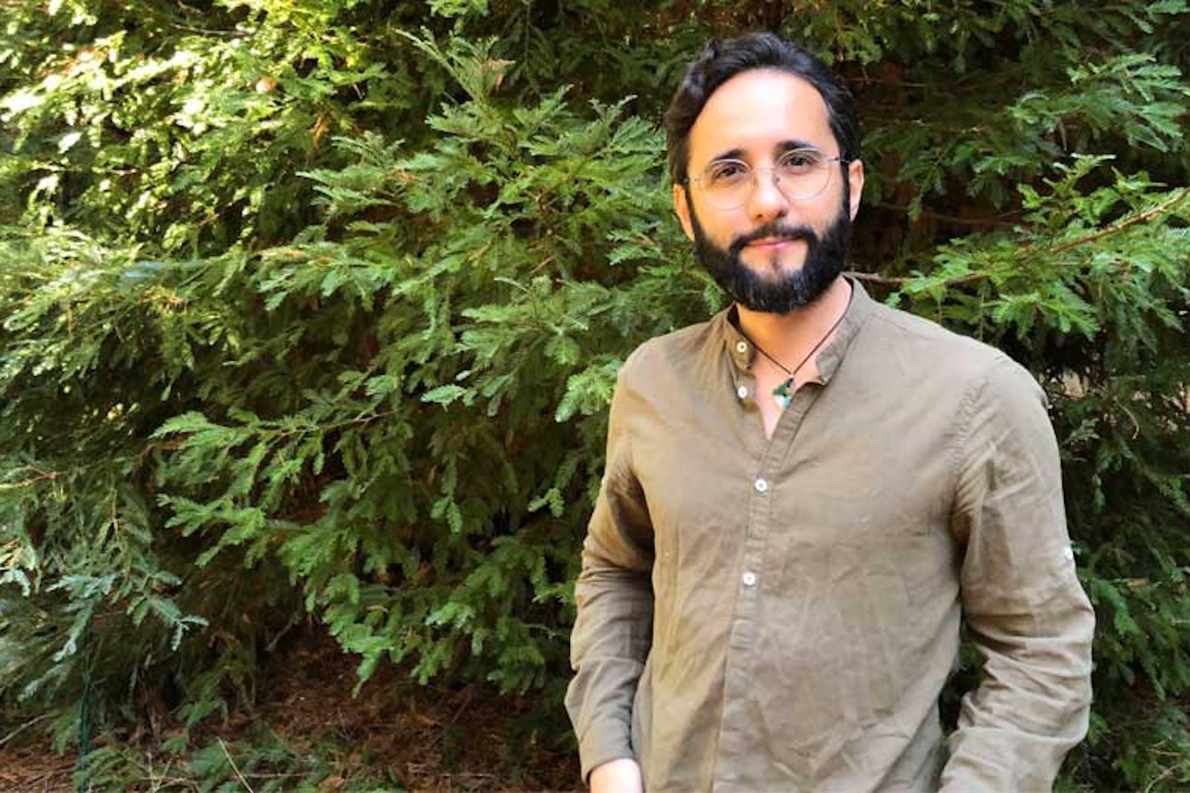 Portrait of Diego Siez-Gil co-founder of Pachama.