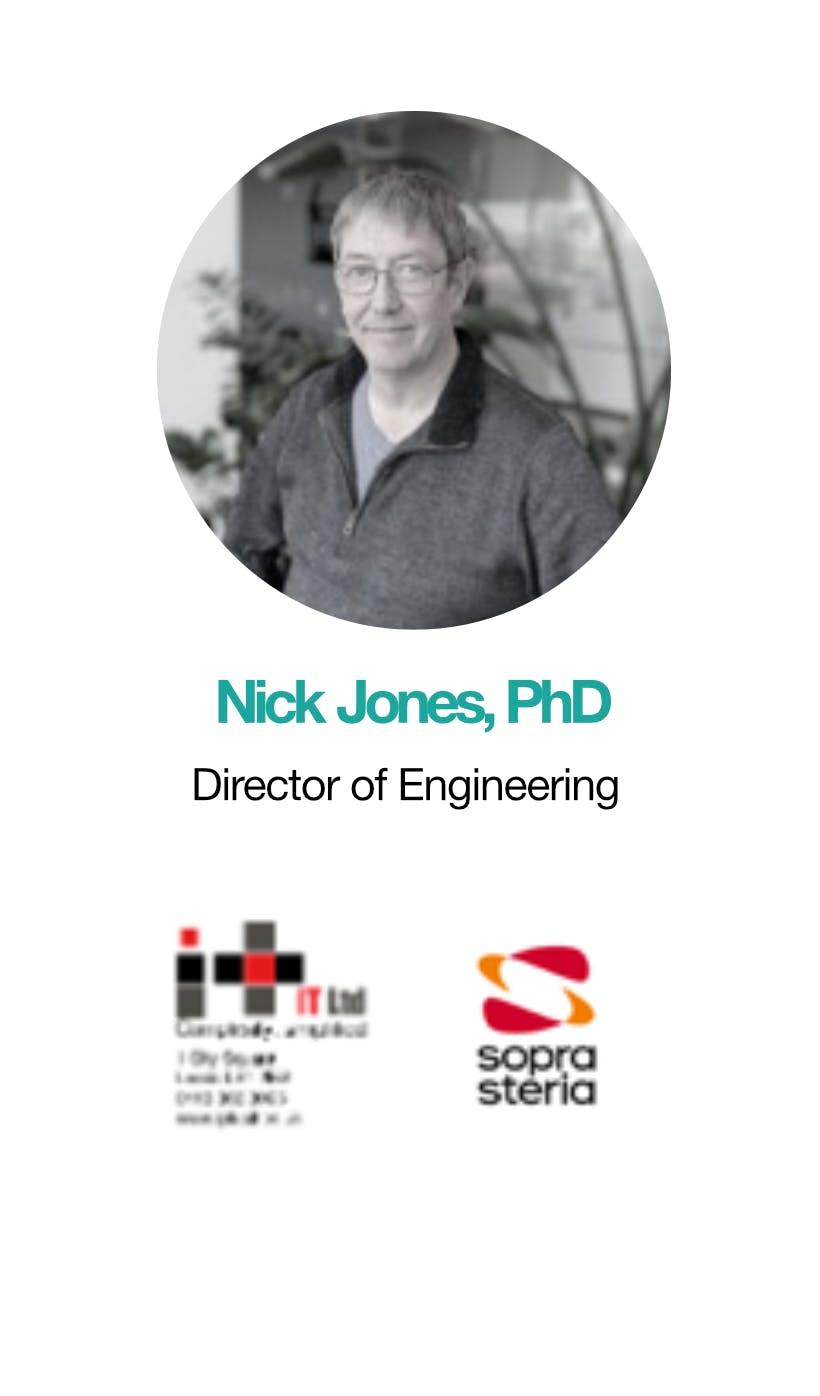 Nick Jones, PHD Director of Engineering
