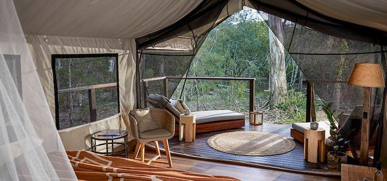 Paperbark Camp Deluxe Safari Tent