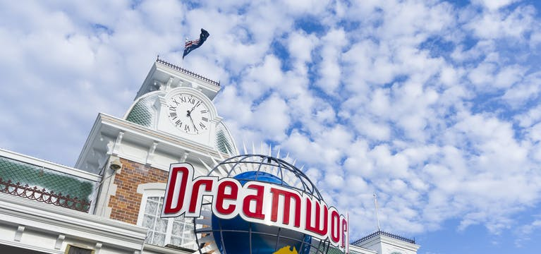 Dreamworld Theme Park, Gold Coast, Queensland.