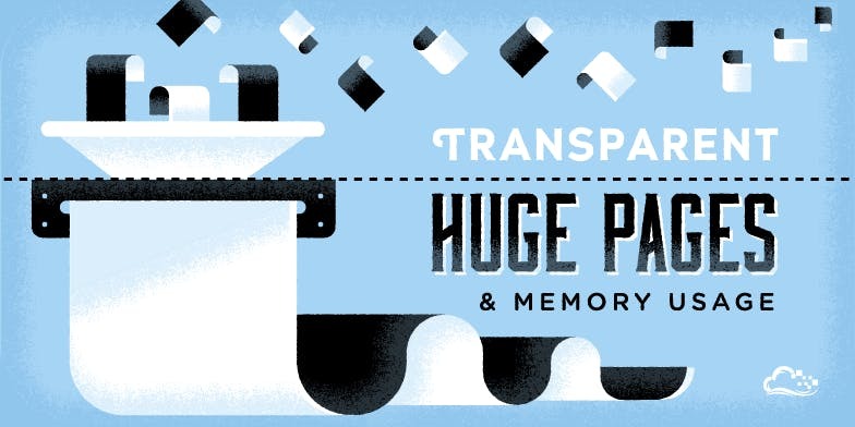 Transparent huge pages and memory usage illustration of paper