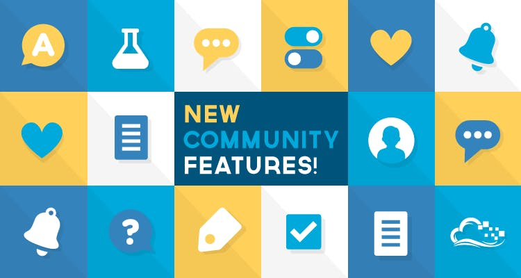new community features