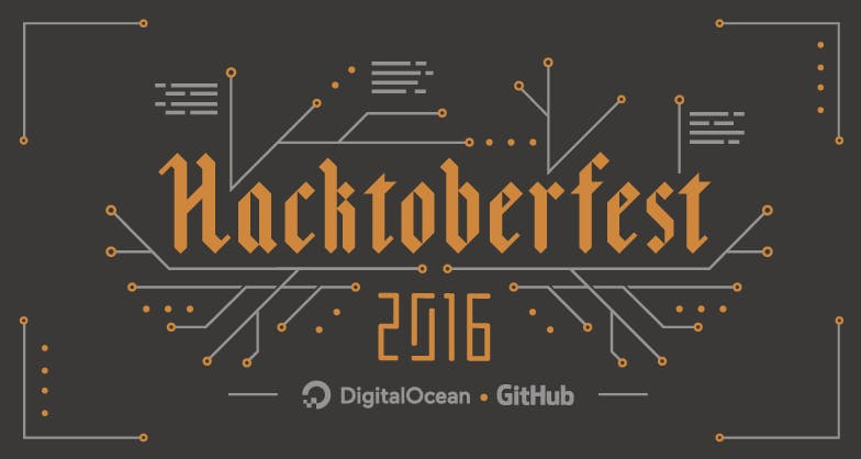 Hacktoberfest 2016 illustration