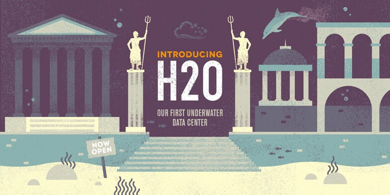 Introducing H20 our first under water data center illustration of Atlantis