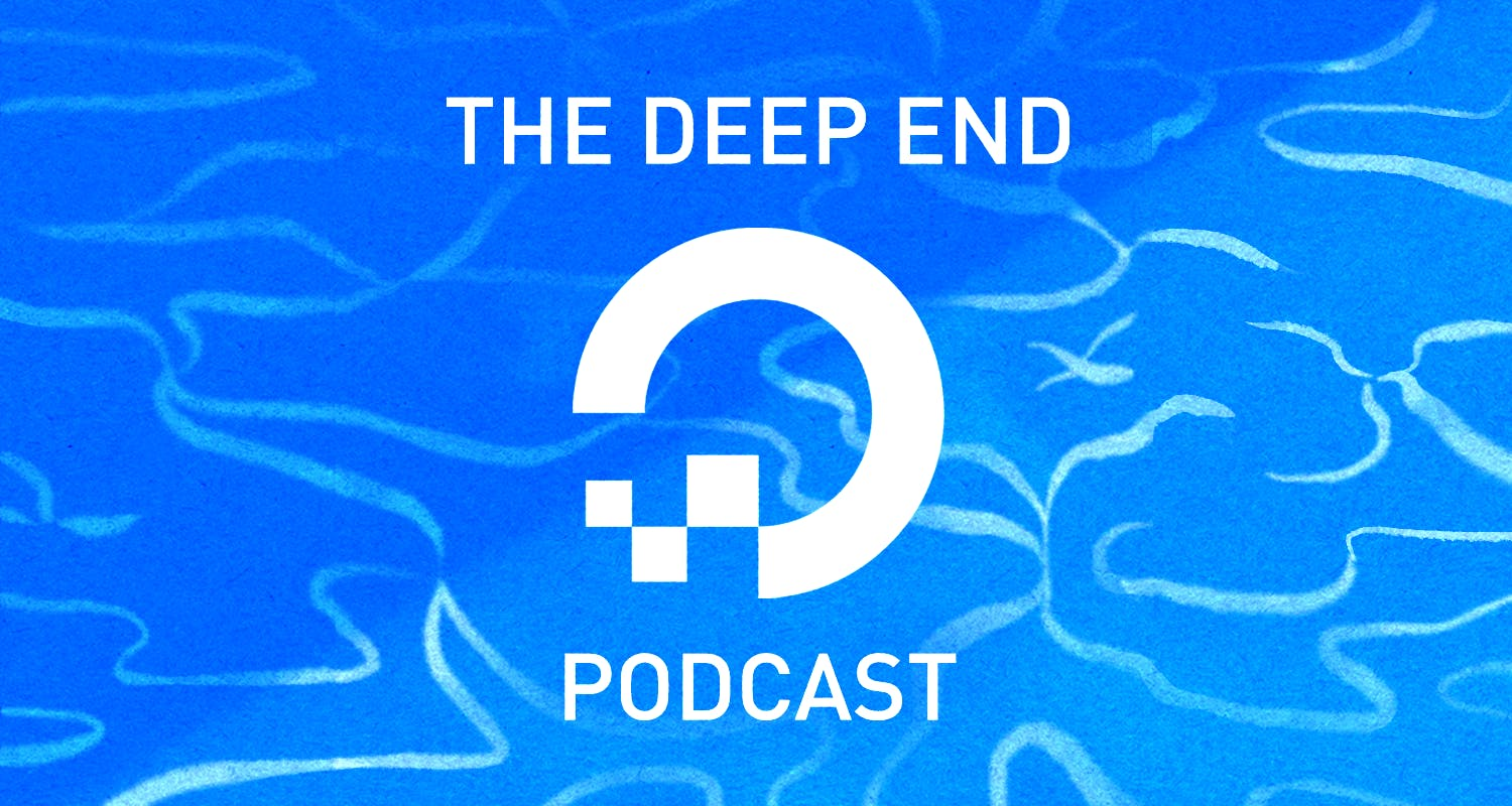 water deep end podcast illustration